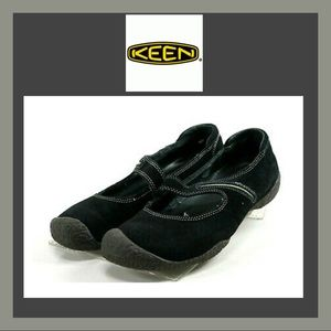Keen Suede Mary Jane Slip On Shoes size 6.5